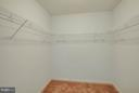 Large walk-in closet - main level master bedroom - 100 TATHER DR, MARTINSBURG
