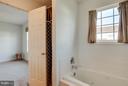 Master bathroom - separate tub & shower! - 100 TATHER DR, MARTINSBURG