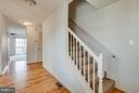 Spacious foyer with beautiful hardwood floors! - 100 TATHER DR, MARTINSBURG