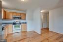 Beautiful hardwood floors in kitchen! - 100 TATHER DR, MARTINSBURG