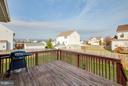 Rear exterior - neighborhood view off deck - 100 TATHER DR, MARTINSBURG