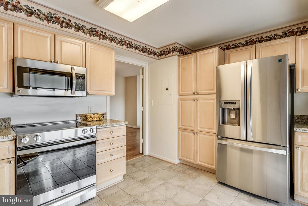 Newer Stainless Steel Appliances - 19385 CYPRESS RIDGE TER #801, LEESBURG