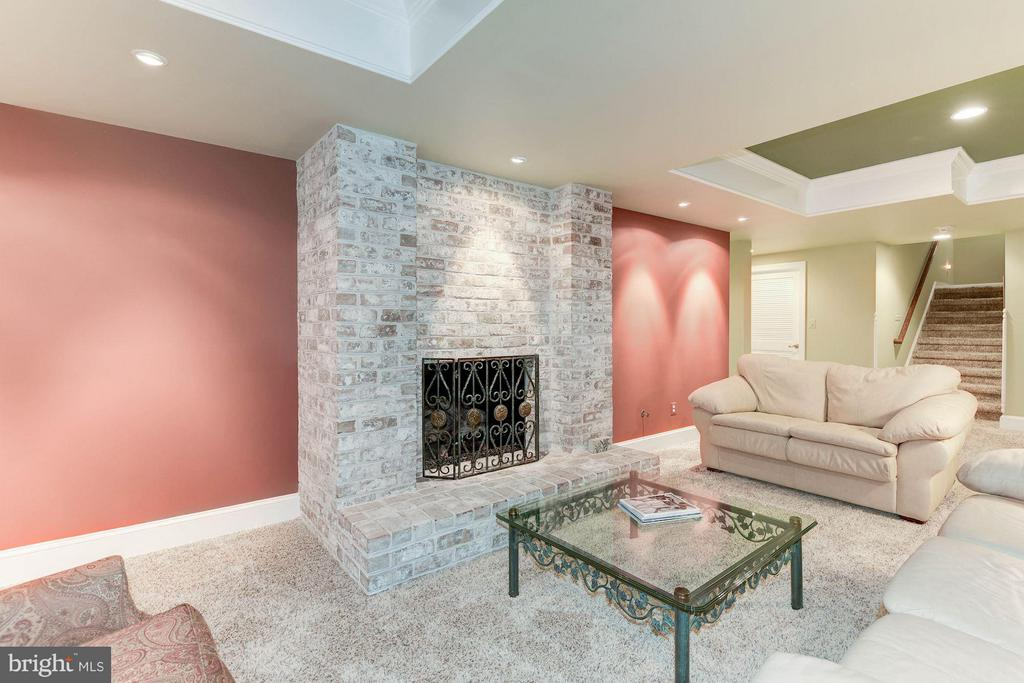 Recreation Room Lounge and Fireplace - 4601 NEPTUNE DR, ALEXANDRIA