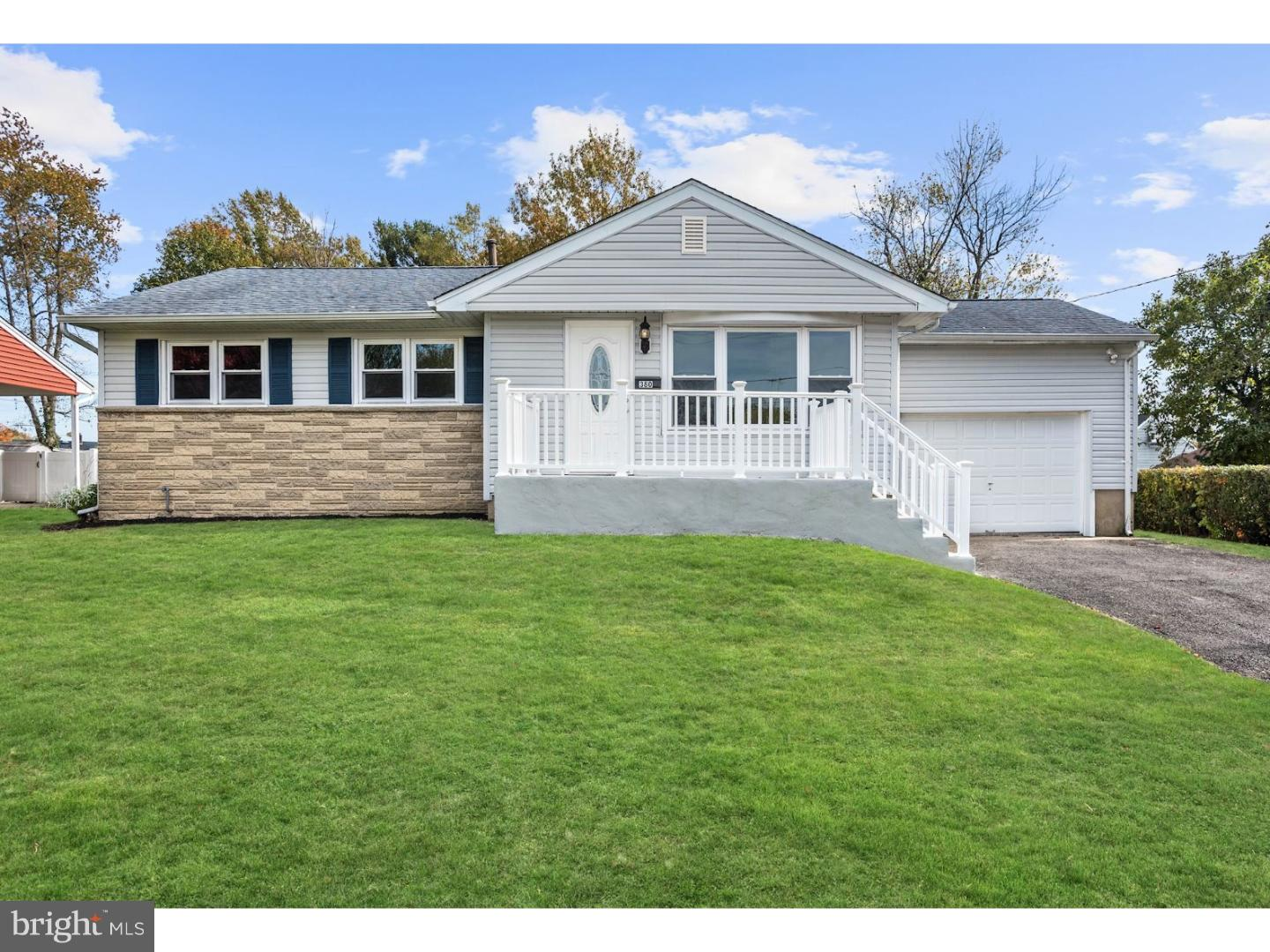 Single Family Home for Sale at 380 W PENNINGTON Drive Westampton, New Jersey 08060 United States