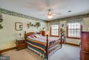 Third bedroom with carpet - 7411 SNOW HILL DR, SPOTSYLVANIA