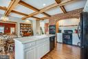 What a huge country kitchen w/hardwood floors, - 7411 SNOW HILL DR, SPOTSYLVANIA