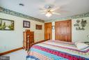 Third bedroom-notice the large nice closet spaces - 7411 SNOW HILL DR, SPOTSYLVANIA