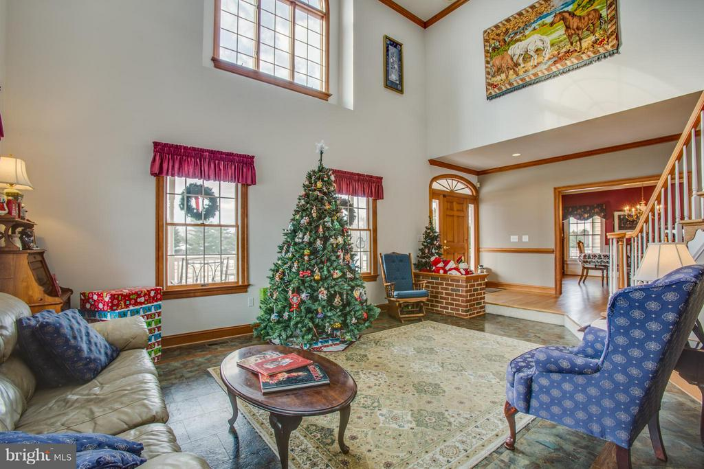 Cathedral Ceiling and beautiful Anderson windows - 7411 SNOW HILL DR, SPOTSYLVANIA