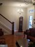 Look at this beautiful Parlor! Love the lights - 3611 MARTIN LUTHER KING JR AVE SE, WASHINGTON
