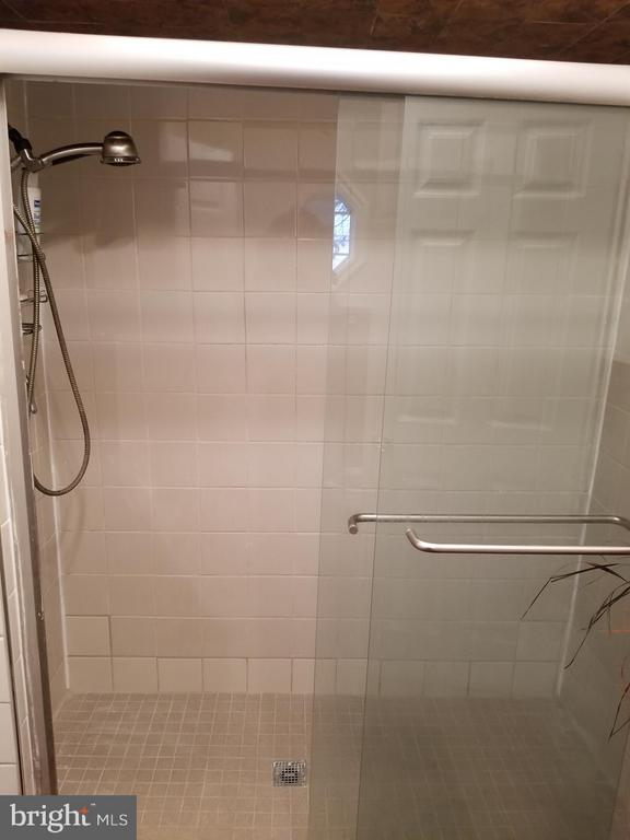 Main Level Full Bath with renovated shower - 3611 MARTIN LUTHER KING JR AVE SE, WASHINGTON