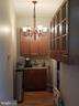 Nice Butlers Pantry, love the fixture! - 3611 MARTIN LUTHER KING JR AVE SE, WASHINGTON