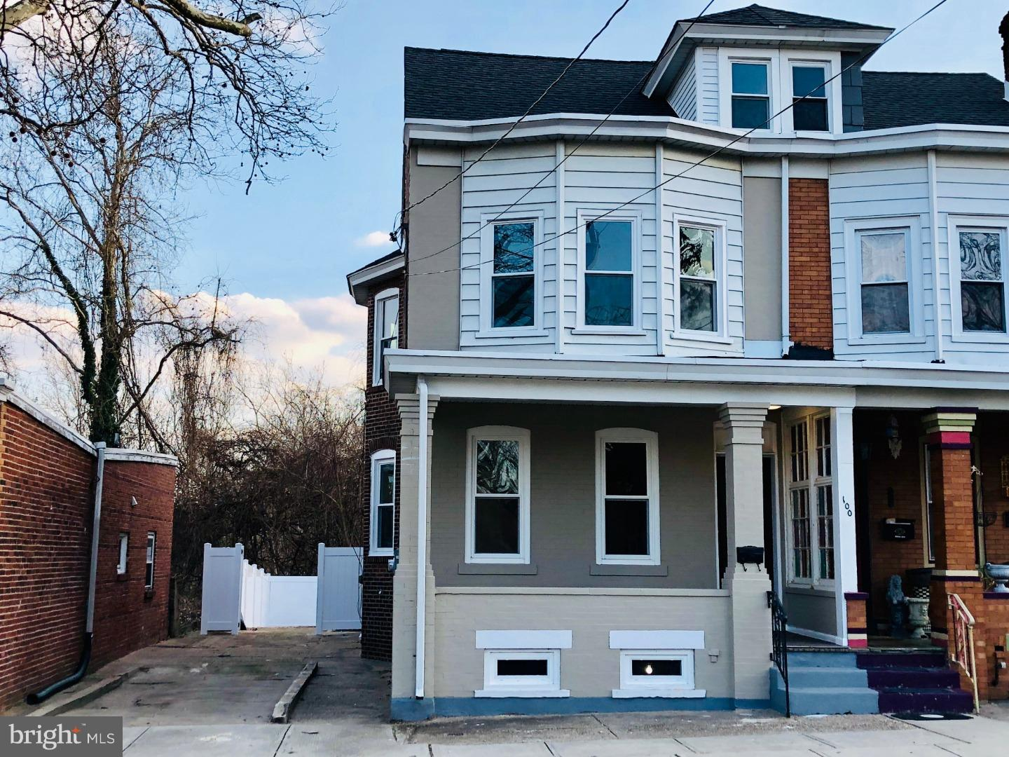Single Family Home for Sale at 100 NORMAN Avenue Roebling, New Jersey 08554 United States