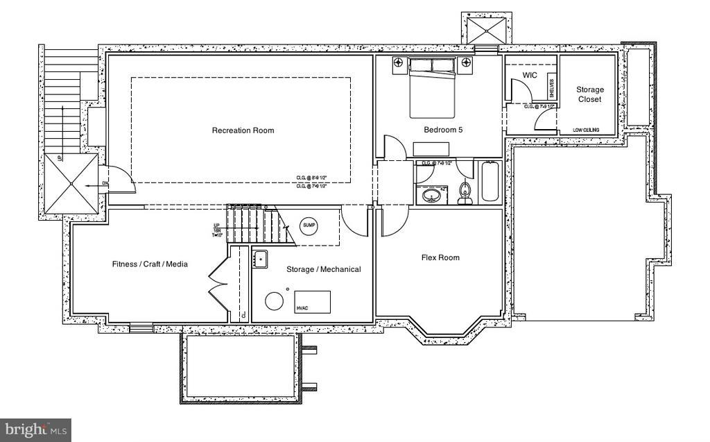 Lower Level - 5703-A RIDGEFIELD RD, BETHESDA