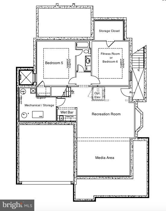 Lower Level - 5703 RIDGEFIELD RD, BETHESDA