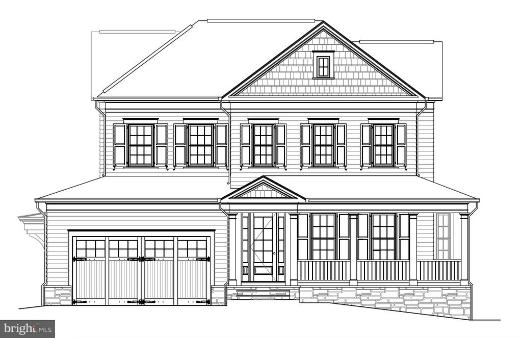 Gorgeous custom home designed by GTM Architects! - 5703 RIDGEFIELD RD, BETHESDA