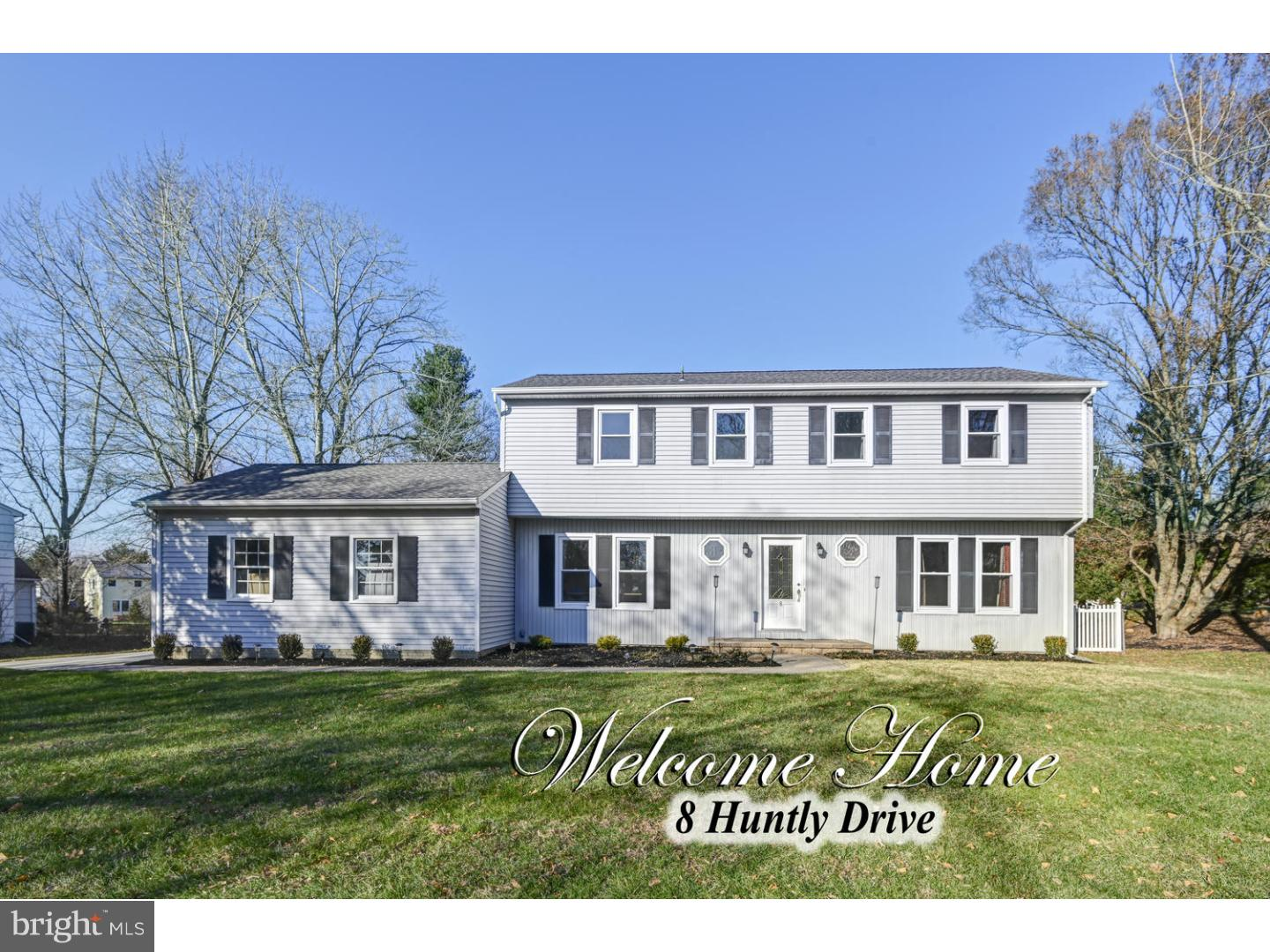 Single Family Home for Sale at 8 HUNTLY Drive Princeton Junction, New Jersey 08550 United StatesMunicipality: West Windsor Twp