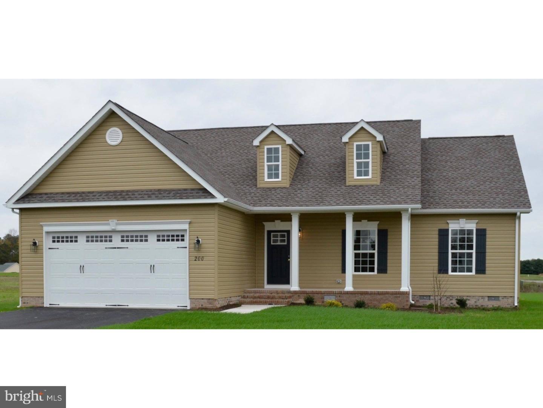 Casa Unifamiliar por un Venta en 284 HIGHTIDE Drive Frederica, Delaware 19946 Estados Unidos