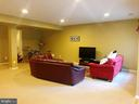 lower level living area - 14352 NORTHBROOK LN, GAINESVILLE