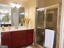 First level master bath - 14352 NORTHBROOK LN, GAINESVILLE