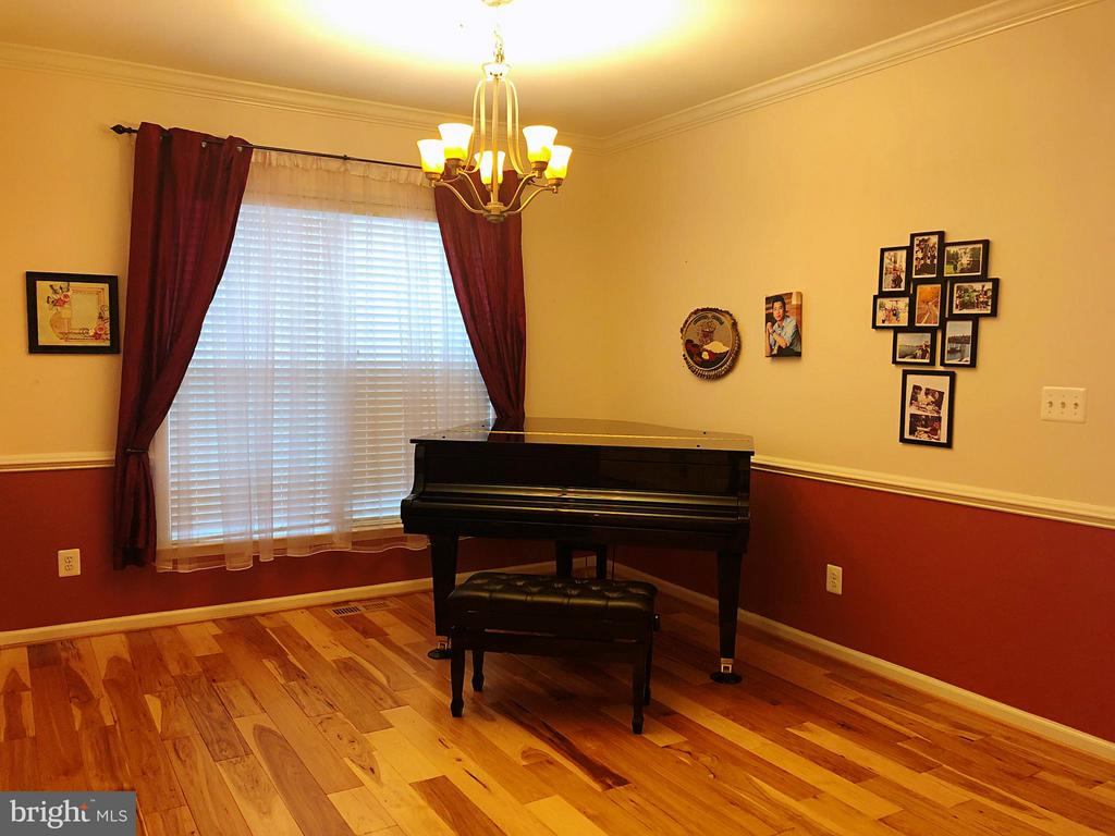 First level music room / formal dinning room - 14352 NORTHBROOK LN, GAINESVILLE