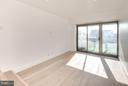 Expansive king size Bedroom with balcony access - 2501 M ST NW #608, WASHINGTON