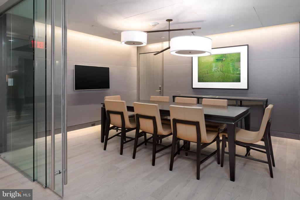 Glass enclosed conference room - 2501 M ST NW #608, WASHINGTON