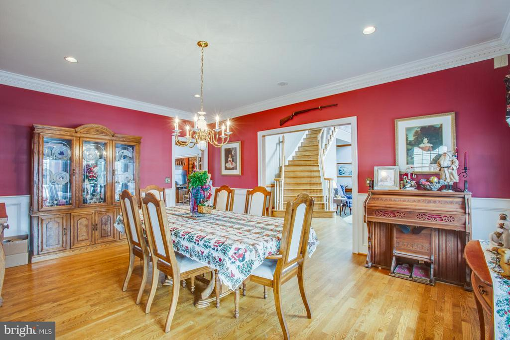 Forma Dining Room with Hardwood Floors - 7411 SNOW HILL DR, SPOTSYLVANIA