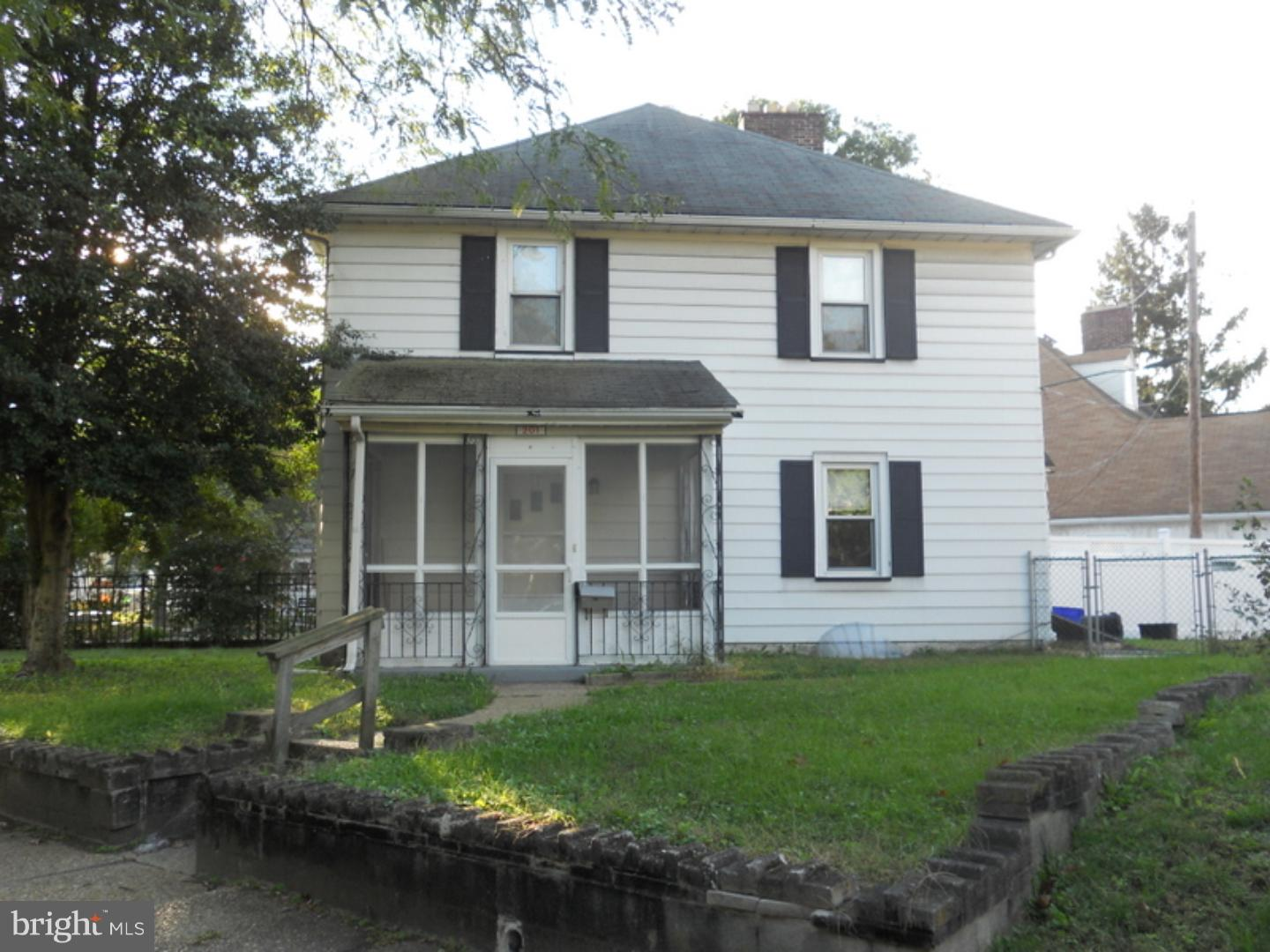 Photo of home for sale at 201 Chestnut Street, Brooklawn NJ