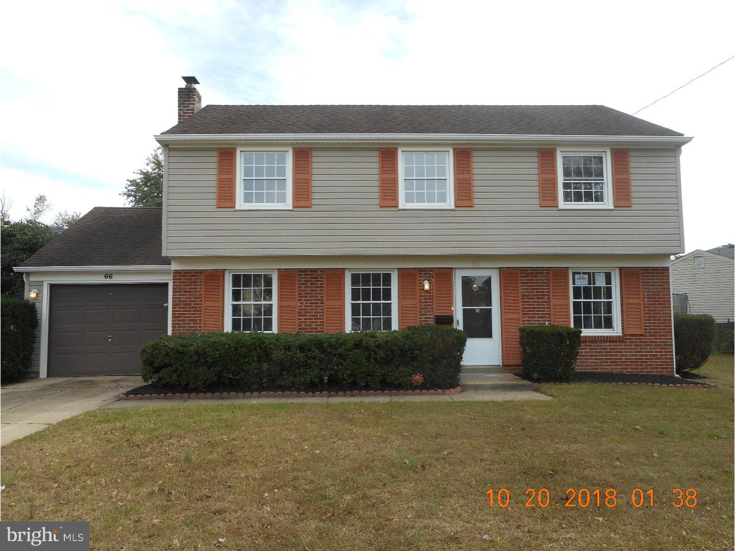 Single Family Home for Sale at 66 LONGWOOD Drive Stratford, New Jersey 08084 United States
