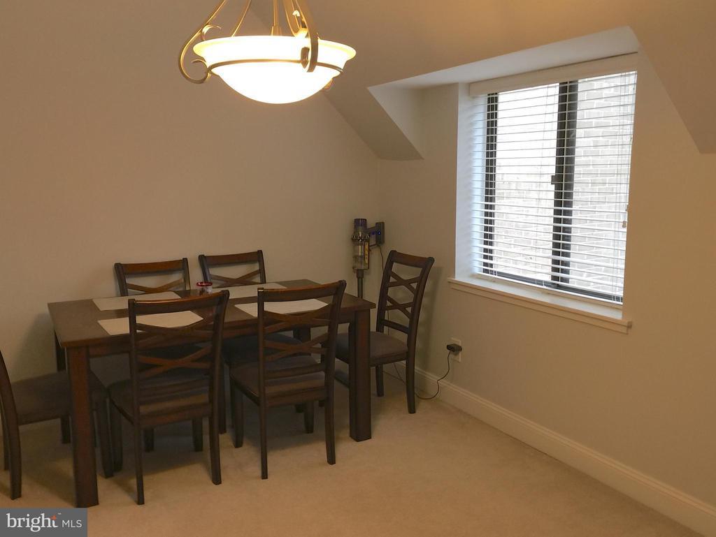Dining Room from the Living Room - 1664 PARKCREST CIR #300, RESTON