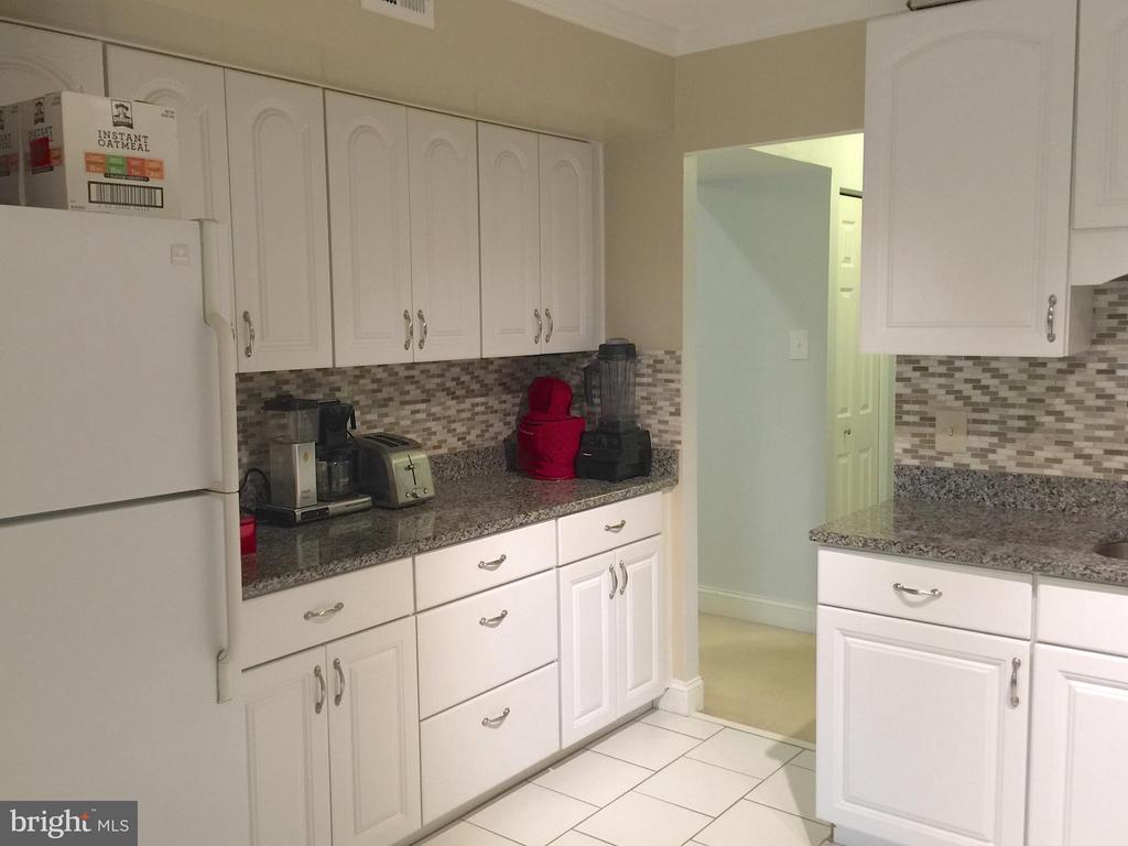 Updated kitchen with Recent Appliances - 1664 PARKCREST CIR #300, RESTON