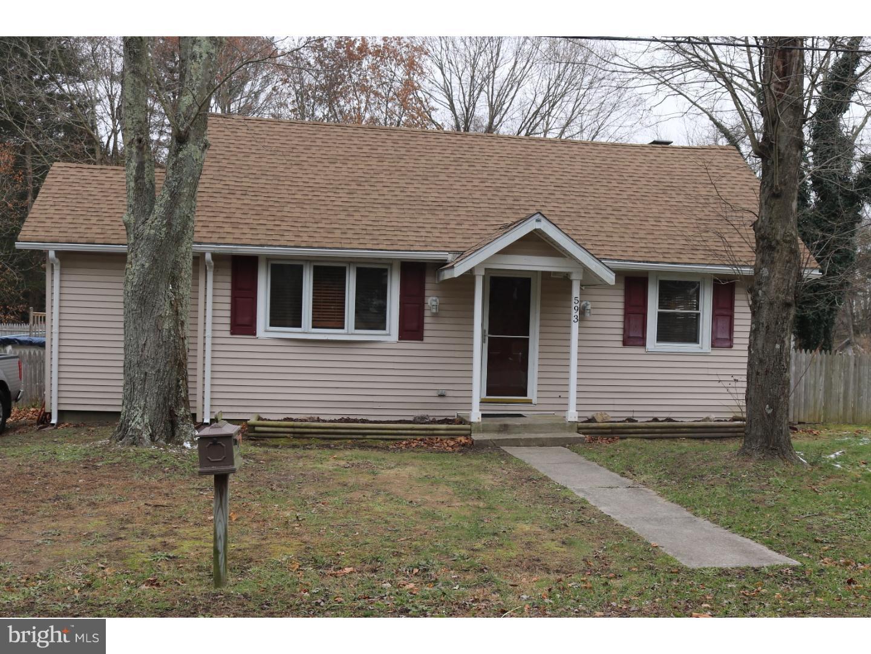 Enfamiljshus för Försäljning vid 593 TANGER Avenue Franklinville, New Jersey 08322 Förenta staternaI/Runt: Franklin Township