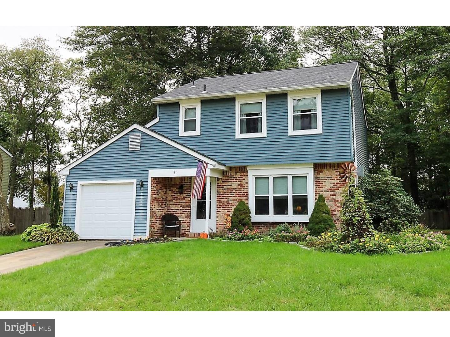 Single Family Home for Sale at 51 SHERWOOD Lane Westampton, New Jersey 08060 United States