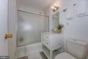 Renovated Bathroom - 4101 CATHEDRAL AVE NW #1112, WASHINGTON