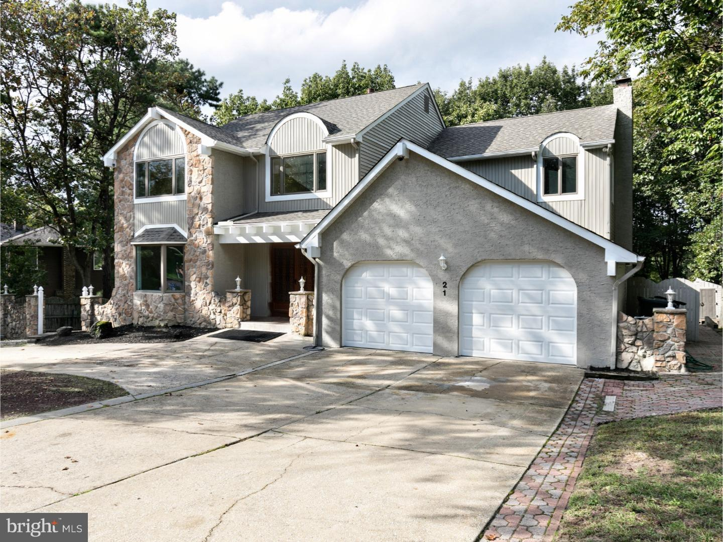 Single Family Home for Sale at 21 ACORN HILL Drive Voorhees Township, New Jersey 08043 United States