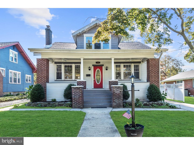 Частный односемейный дом для того Продажа на 102 KENDALL BLVD Oaklyn, Нью-Джерси 08107 Соединенные Штаты