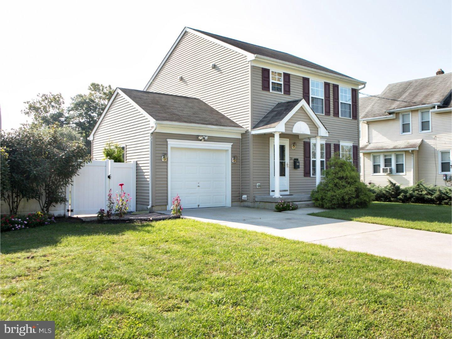 Single Family Home for Sale at 31 MADISON Avenue Laurel Springs, New Jersey 08021 United States
