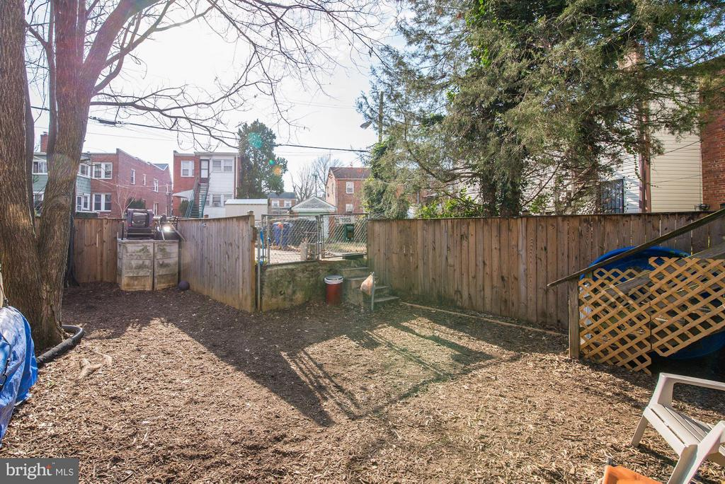 Backyard - 1905 MINNESOTA AVE SE, WASHINGTON