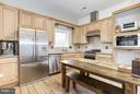 1056 sqft~Brick Guest House - Gourmet Kitchen - 42692 LUCKETTS RD, LEESBURG