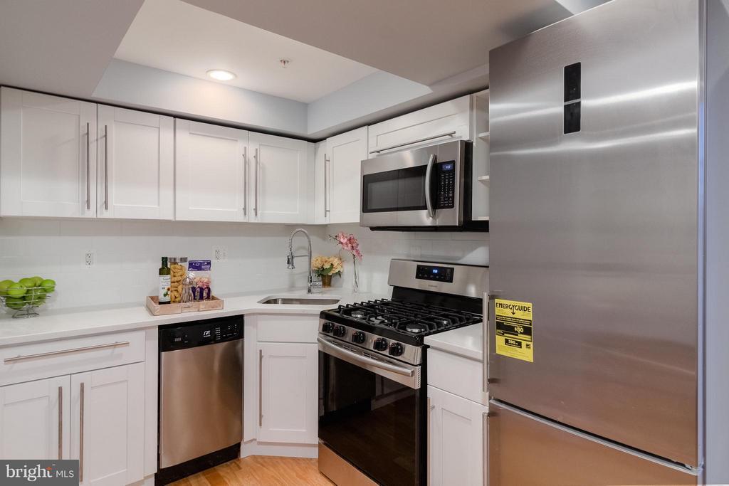 Basement Kitchen - 225 BRYANT ST NE, WASHINGTON