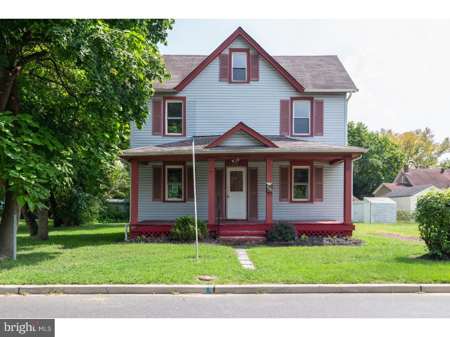 Single Family Home for Sale at 2026 ROWLAND Street Cinnaminson, New Jersey 08077 United States