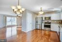 Stainless steel appliances. - 79 CROWN MANOR DR, STAFFORD