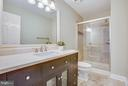 Remodeled Master Bath. - 79 CROWN MANOR DR, STAFFORD