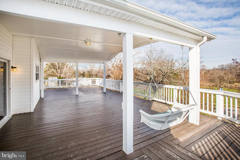 Enjoy the Picturesque view from your porch swing. - 79 CROWN MANOR DR, STAFFORD