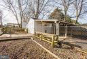 12x16 Kennel w/enclose cement dog run & electric. - 79 CROWN MANOR DR, STAFFORD
