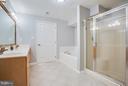 Lower level 3rd bath. - 79 CROWN MANOR DR, STAFFORD