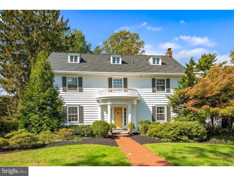 Single Family Home for Sale at 412 CHEWS LANDING Road Haddonfield, New Jersey 08033 United StatesMunicipality: Haddonfield