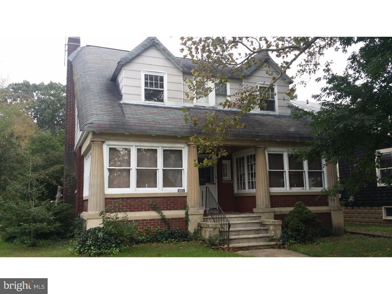 Single Family Home for Sale at 301 POPLAR Avenue Merchantville, New Jersey 08109 United StatesMunicipality: Merchantville