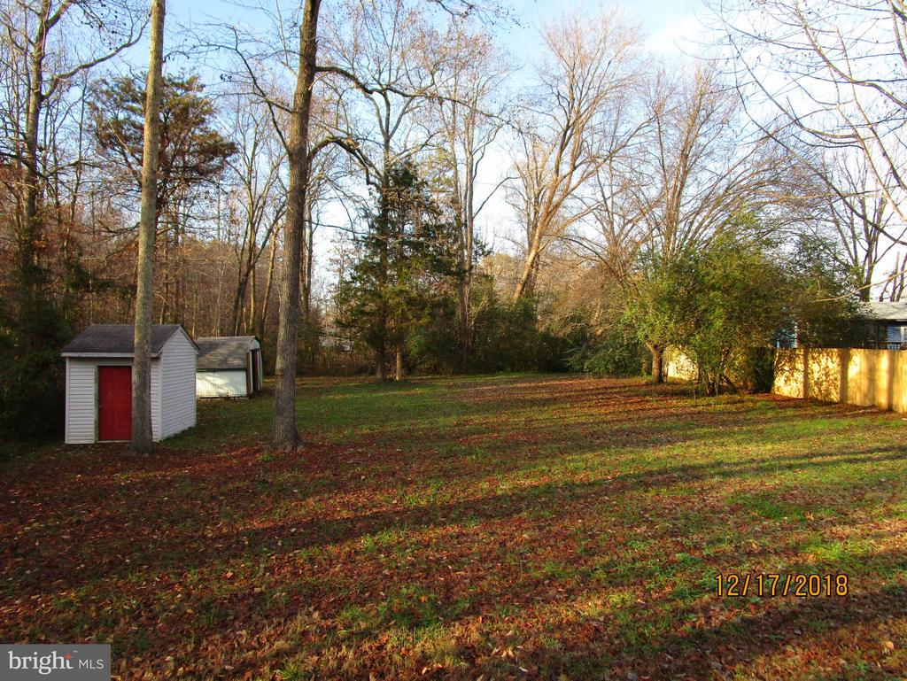 Backyard - 9808 LEAVELLS RD, FREDERICKSBURG