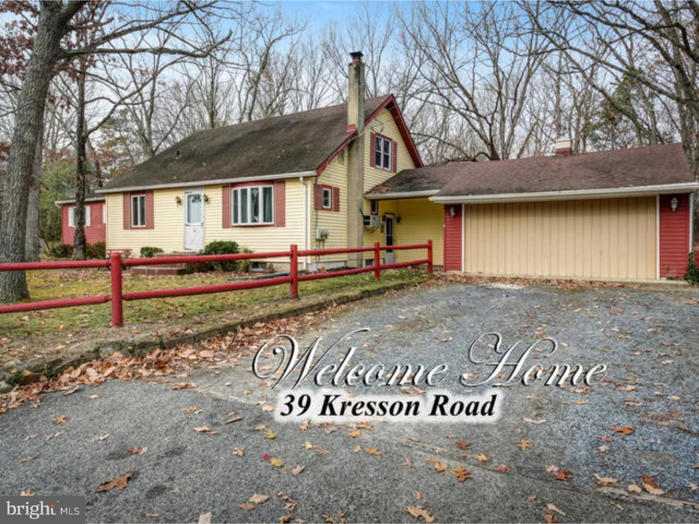 Single Family Home for Sale at 39 KRESSON Road Gibbsboro, New Jersey 08026 United States